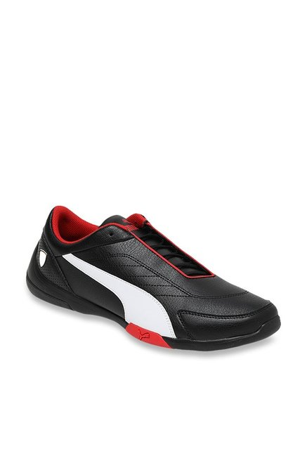2bbeb932c Buy Puma Ferrari SF Kart Cat III Black   White Sneakers for Men at Best  Price   Tata CLiQ