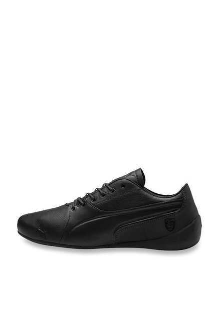 67cf748b5f7924 Buy Puma Ferrari SF Drift Cat 7 LS Black Sneakers for Men at Best ...