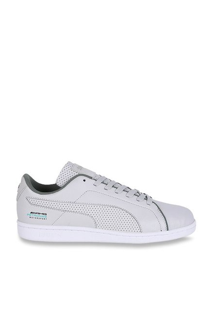 Buy Puma Mercedes MAPM Court Perf Team Silver Sneakers for Men at ... c1eab6446