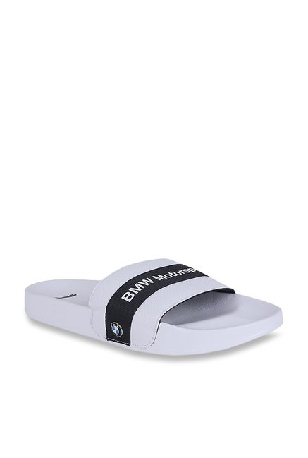 53cf1d64f361 Buy Puma BMW MMS Leadcat White   Team Blue Casual Sandals for Men at Best  Price   Tata CLiQ