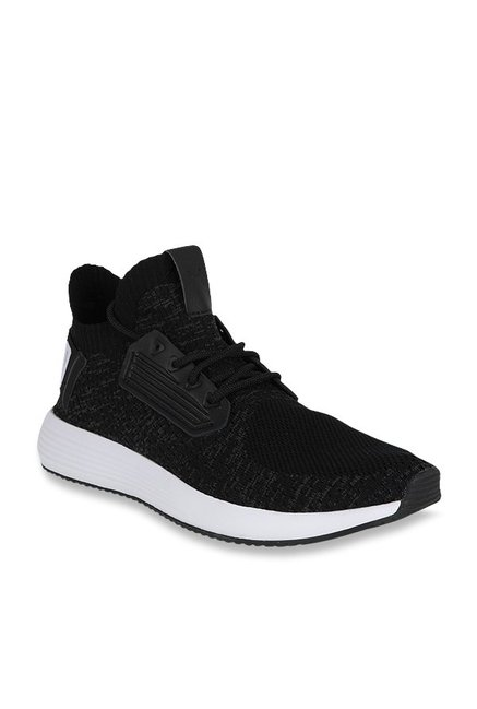 c478cdae0252 Buy Puma Uprise Knit Black Sneakers for Men at Best Price   Tata CLiQ