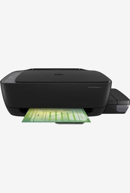HP 410 AIO Ink Tank Color Wireless Printer  Black