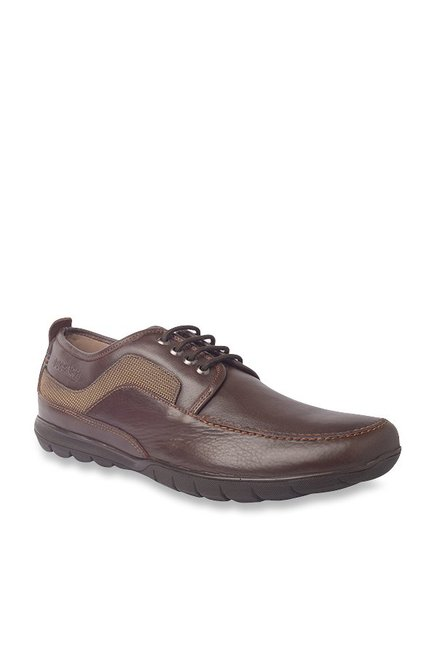 18ad11fed0a Buy Buckaroo Cosimo Dark Brown Casual Shoes for Men at Best Price   Tata  CLiQ