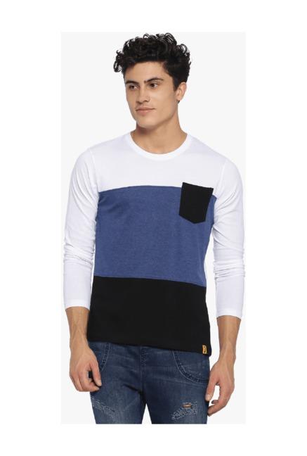 045fb1a9f5 Buy Campus Sutra Multicolor Cotton T-Shirt for Men Online @ Tata CLiQ