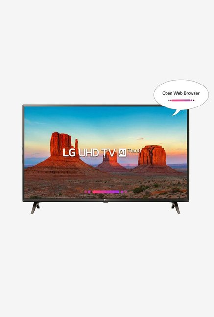 LG 43UK6360PTE 108 cm (43 inches) Smart 4K Ultra HD LED TV (Black)