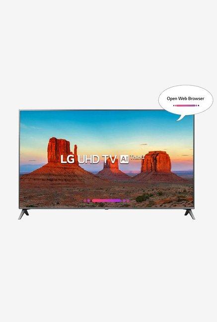 LG 55UK6500PTC 139 cm (55 inches) Smart 4K Ultra HD LED TV (Black)