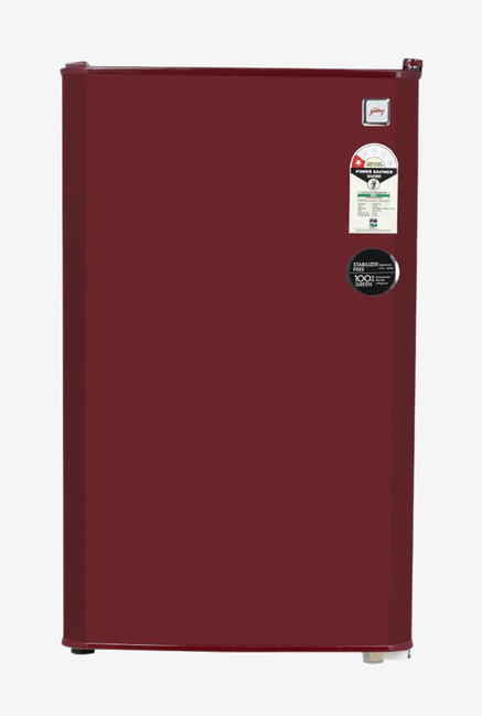 Godrej RD CHAMP 114 WRF 1.2 99 L 1 Star Direct Cool Single Door Refrigerator  Wine Red