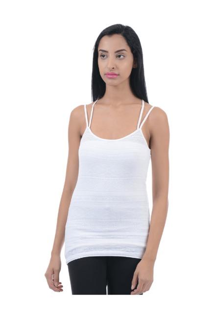 b08de142f6c9 Buy Aeropostale White Lace Cami Top for Women Online @ Tata CLiQ