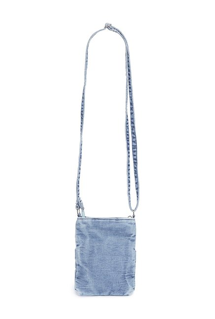 Buy Westside Blue Denim Sling Bag for Women Online   Tata CLiQ ea12579ad2815