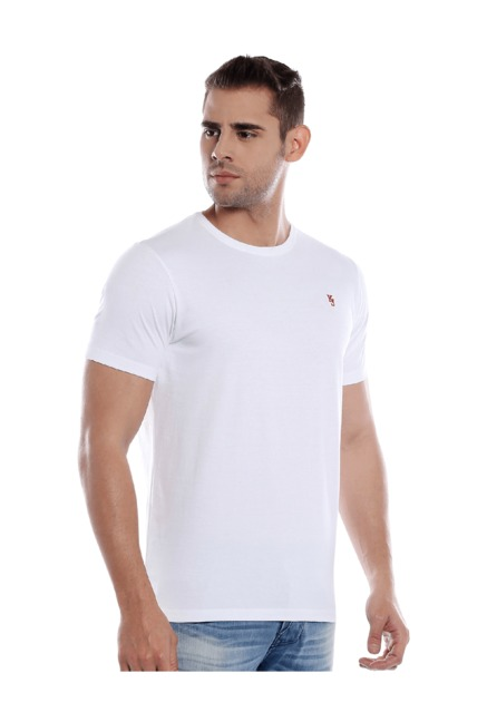 fc92d2c3 Buy Killer White, Grey & Black Slim Fit T-Shirt (Pack of 3) for Men ...