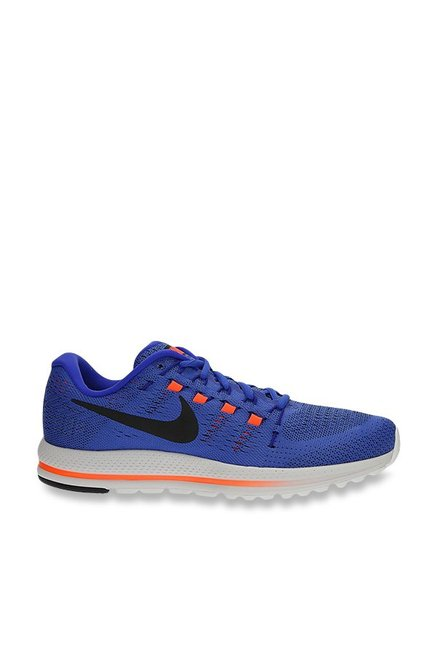 230378ba741bf Buy Nike Air Zoom Vomero 12 Blue Running Shoes for Men at Best Price   Tata  CLiQ