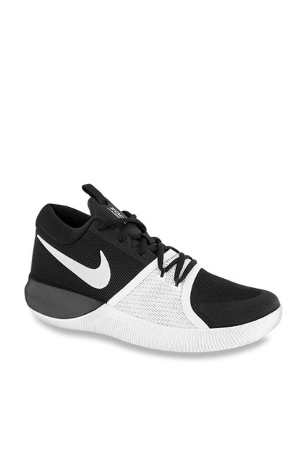lowest price 64f13 75b70 Buy Nike Zoom Assersion Black  White Running Shoes for Men at Best Price   Tata CLiQ