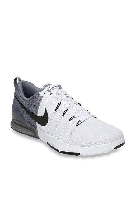 nike zoom white and grey