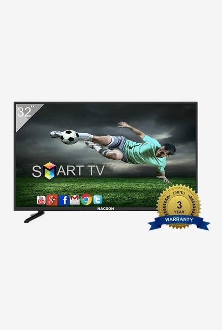Nacson NS8016 80 cm  32 inches  Smart HD Ready LED TV  Black