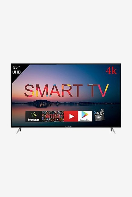 Nacson NS55U4K 140 cm  55 inch  Smart 4K Ultra HD LED TV  Black  With Airfly remote