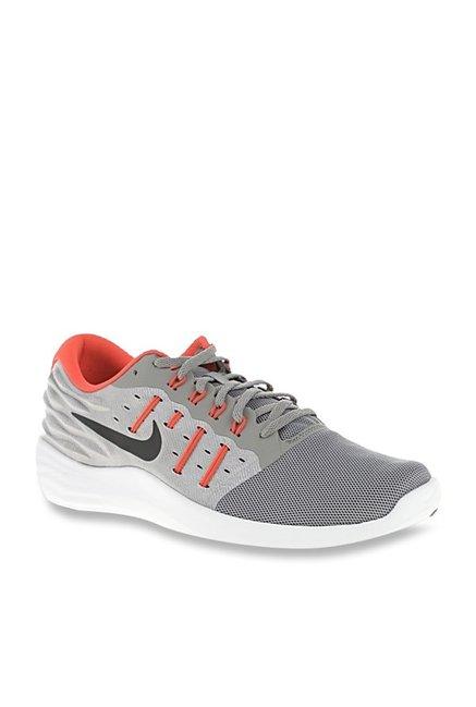 detailed look 570c5 4e4d3 Nike Lunarstelos Light Grey Running Shoes