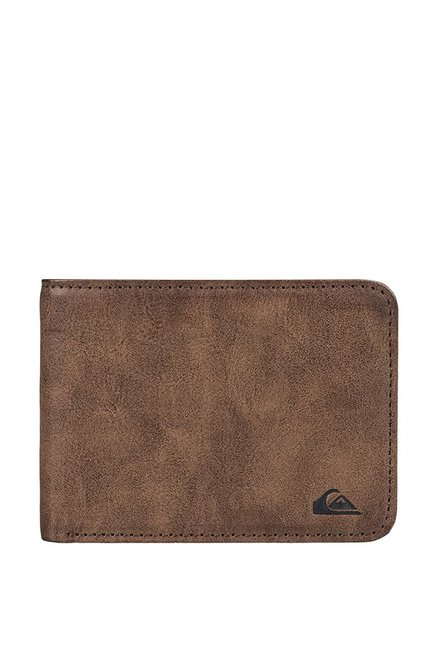519f946675 Buy Quiksilver Slimvintageii Brown Solid Bi-Fold Wallet For Men At ...