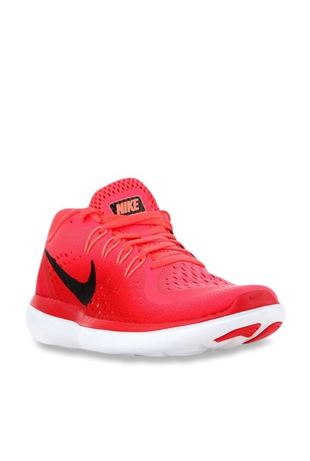 94ba0aa8e111 Buy Nike Flex 2017 RN Red Running Shoes for Women at Best Price   Tata CLiQ