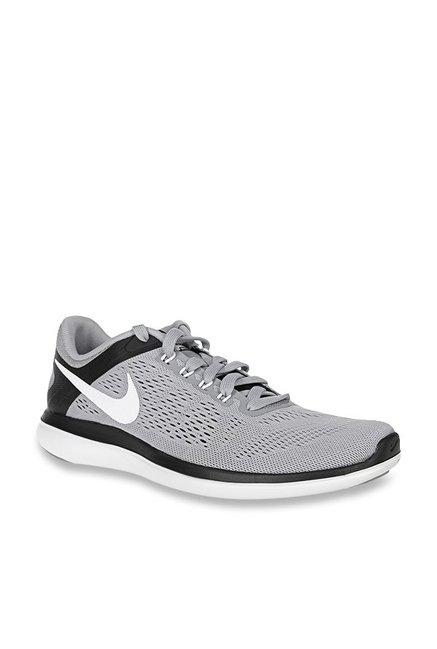 293b34aaf561 Buy Nike Flex 2016 RN Grey Running Shoes for Men at Best Price   Tata CLiQ