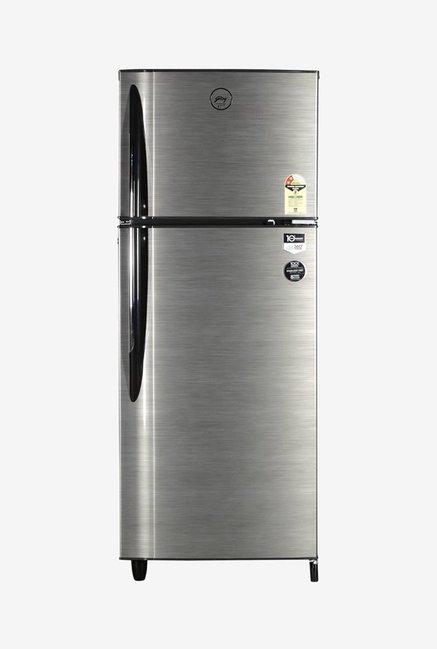 Godrej 260 L 2 Star Frost Free Double Door Refrigerator  Silver Strokes, RT EON 260 P 2.4  Godrej Electronics TATA CLIQ