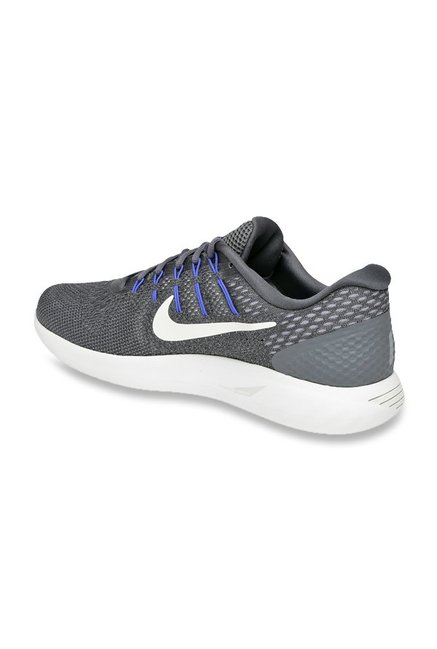 4529e45b056ff Buy Nike Lunarglide 8 Grey Running Shoes for Men at Best Price ...