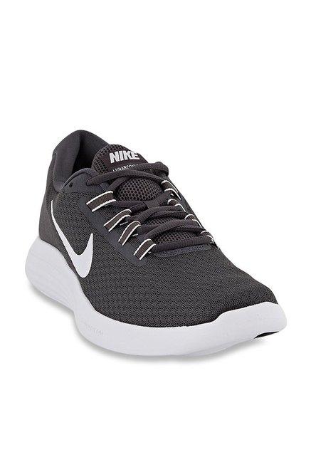 5d178a08ba4 Buy Nike Lunar Converge Dark Grey Running Shoes for Men at Best Price    Tata CLiQ