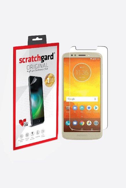 Scratchgard Anti-Bubble & Anti-Fingerprint Screen Protector For Motorola Moto E5