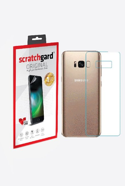 Scratchgard Anti-Bubble & Anti-Fingerprint Screen Protector For Samsung Galaxy S8 Plus (Back)