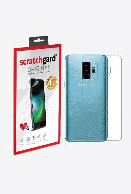 Scratchgard Anti-Bubble & Anti-Fingerprint Screen Protector For Samsung Galaxy S9 Plus (Back)