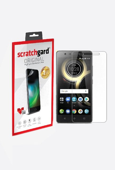 Scratchgard Anti-Bubble & Anti-Fingerprint Screen Protector For Lenovo K8 Plus