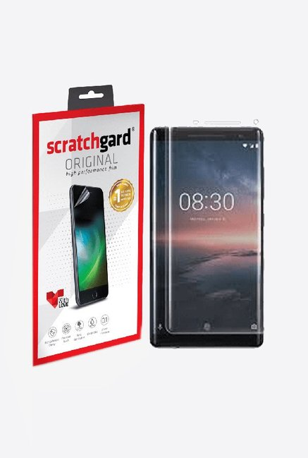 Buy Scratchgard Screen Protector For Nokia 8 Sirocco Online At Best Price @  Tata CLiQ