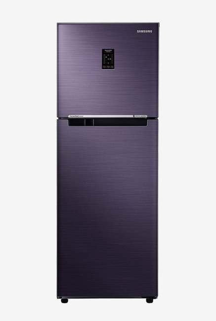 Samsung 253L Inv 2 Star  2019  Frost Free Double Door CNV Refrigerator  Pebble Blue, RT28N3722UT/HL