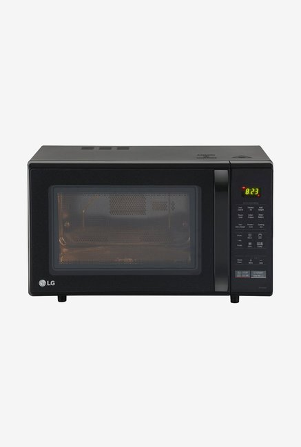61421be4eed Buy LG MC2846BG 28 L Convection Microwave Oven (Black) Online At Best Price    Tata CLiQ