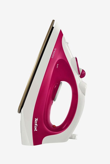 Buy Tefal Inicio 1800 W Steam Irons (Pink) Online At Best Price @ Tata CLiQ