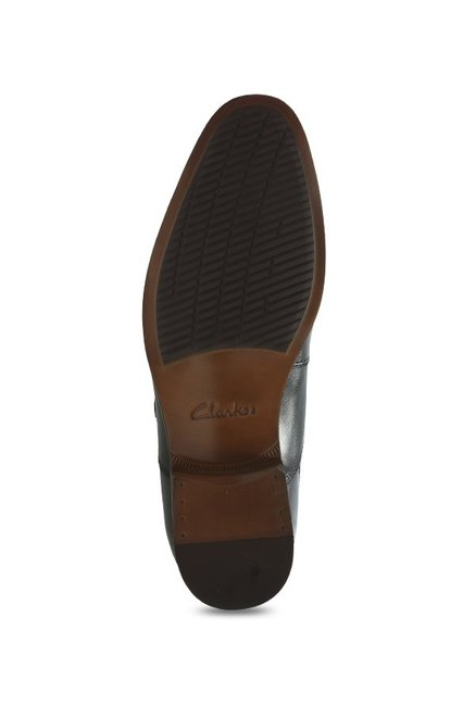 a18f16fbe0c Buy Clarks Gilmore Black Monk Shoes for Men at Best Price   Tata CLiQ