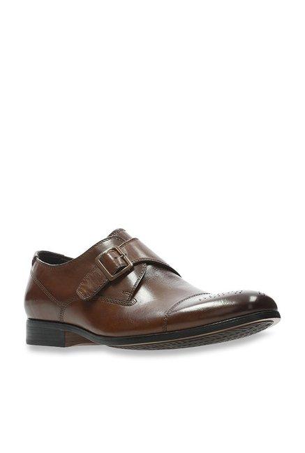 ed156229 Buy Clarks Gilmore British Tan Monk Shoes for Men at Best Price @ Tata CLiQ