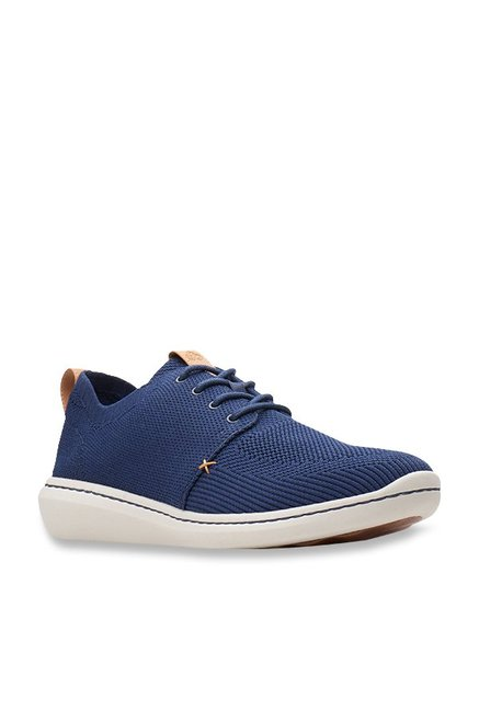 Buy Clarks Step Urban Mix Blue Sneakers for Men at Best Price   Tata CLiQ 2faf38065