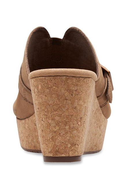 7f28709204f Buy Clarks Annadel Holly Bronze Wedges for Women at Best Price ...
