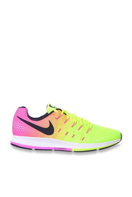 low priced 33140 e9e69 Nike Air Zoom Pegasus 33 OC Fluorescent Green Running Shoes