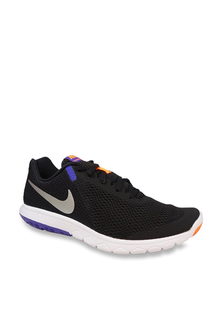 6b920e9e0531a Buy Nike Flex Experience RN 6 Black Running Shoes for Men at Best ...