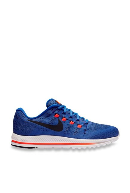 sports shoes 60370 78970 Buy Nike Air Zoom Vomero 12 Blue Running Shoes for Men at Best ...