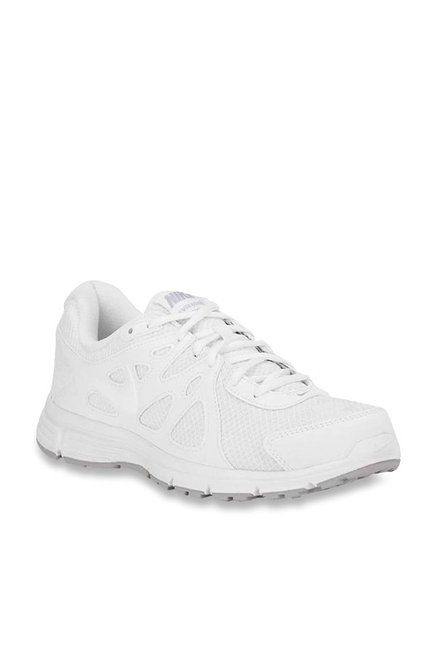 dfb762cb2e99d Buy Nike Revolution 2 MSL White Running Shoes for Men at Best Price   Tata  CLiQ