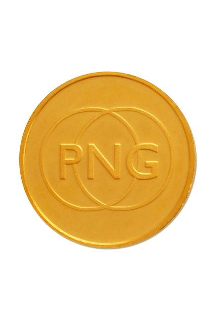 P.N.Gadgil Jewellers 24 Kt Gold Coin