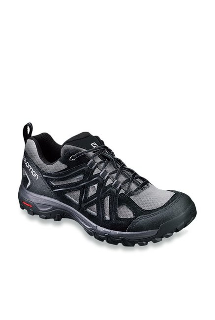 408f2f56f9ac Buy Salomon Evasion Black Hiking Shoes for Men at Best Price ...