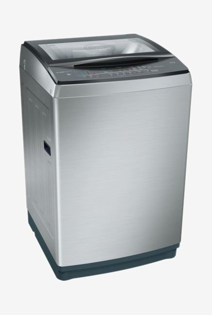 Bosch 10 kg Fully Automatic Top Load Silver