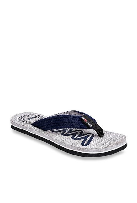 1e1c95f5ee7f Buy Lawman Pg3 Navy   Light Grey Flip Flops for Men at Best Price   Tata  CLiQ