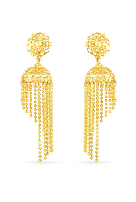 6e75bb315 Buy Malabar Gold and Diamonds 22 kt Gold Earrings Online At Best ...