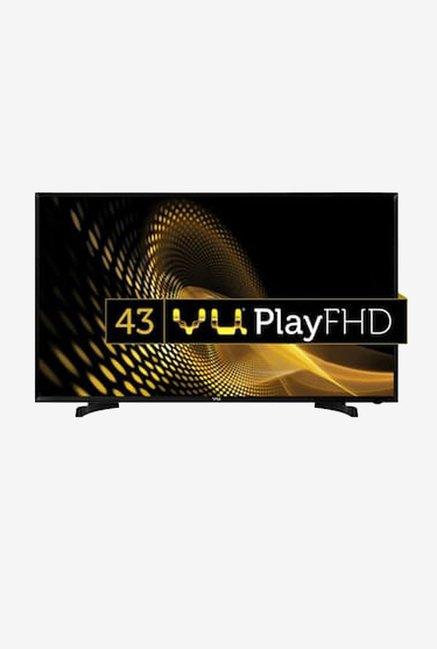 VU 4043F 109 cm  43 inches  Full HD LED TV  Black