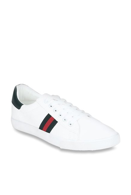 Buy Red Tape White \u0026 Green Sneakers for