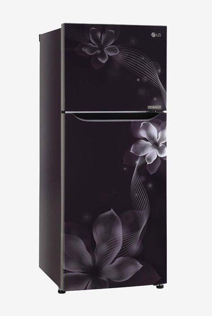 Lg Gl N292spor 260 L Inverter 2 Star Frost Free Double Door Refrigerator Purple